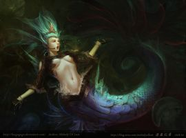 Sea-maiden by fangogogo