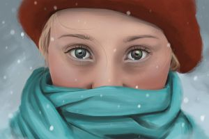 Warm Eyes in the Cold by Didymus03