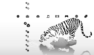 Snow Tiger PS3 Theme by Keen-Eddie