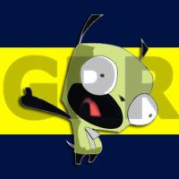 Invader Zim - Gir by Alphonse007