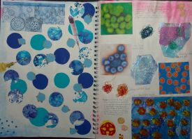 Sketchbook work- vaccines, the body and health by aingeal-uisge