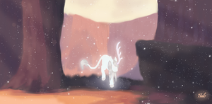 Mystic forest by Midnight-tail