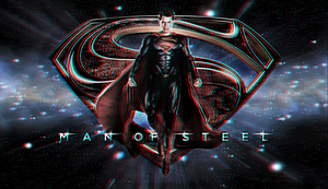 Man of Steel wp 2 In 3D by Geosammy by SWFan1977