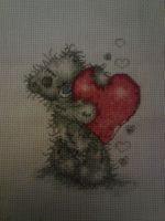 Tatty Teddy Cross Stitch by Ulla-Andy