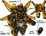 Transformers: Burning Fury - Bumblebee 2.0 by KrytenMarkGen-0