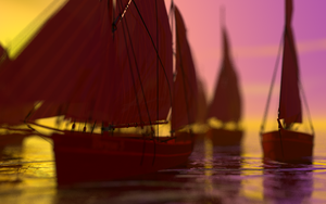 Wooden Boats by centric-prometheus