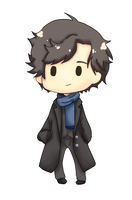 Sherlock Sticker by Stop-wasting-time