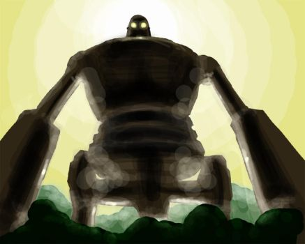 The Iron Giant by dcwj