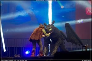 Toothless Hiccup Cosplay How To Train Your Dragon by ChiruNoCosplay