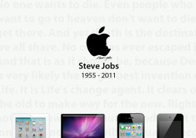 R.I.P. Steve Jobs by zmdigital