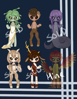 Greek Myth adoptables (CLOSED) by MochaInk