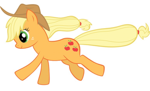 Running Applejack by SkunkDJ