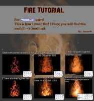 Fire Tutorial by Imoon90