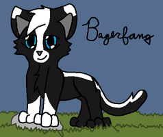 BadgerFang by vulcangirl14