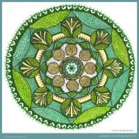 Summer Garden Collab with lou-in-canada by Quaddles-Roost