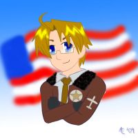+APH+ Alfred Jones - USA by Darling-Poe