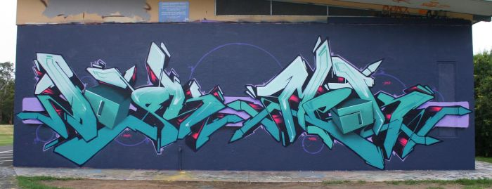 Dosk and Meak 3D letter. by meak-one