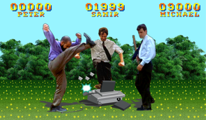Office Space Street Fighter by blackrock3