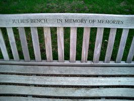 Julie's Bench by migrantmind