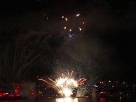 Fleet Review Fireworks 25 by BrendanR85