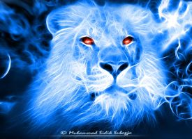 Fractalius Lion by Dhikgital