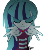 Sonata Dusk- Welcome To The Show (EFFECTS VECTOR) by xxXSketchBookXxx