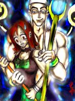 Ener and Nami by SirCrocodile