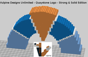 Quaystone Logo: CAD Design by VulpineDesignsULTD