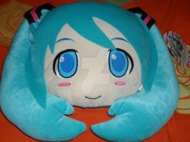 Hatsune Miku Stuff Pillow by theF-man