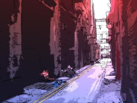 Back Alley by ess-jay-arr
