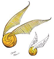 Golden Snitch by geckoSegno