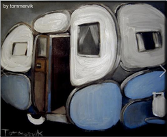 abstract motor home painting by TOMMERVIK