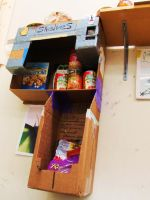 Cardboard Pantry by Brokenopenseed