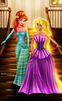Ariel and Rapunzel Designer Collection by Mareishon
