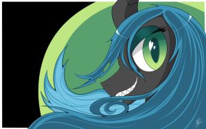 Queen Chrysalis by anon3mau5