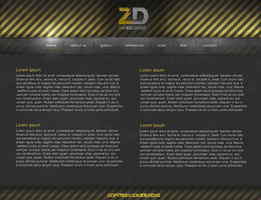 Grunge ZD Interface by Neznanec