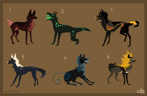 Canine Adopts 2 by Immonia