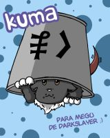 Kuma y su cubito by d4rkslayer