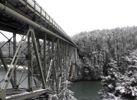 Deception Pass: Bridge II by Photos-By-Michelle