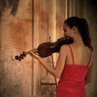 the violin by m-lucia
