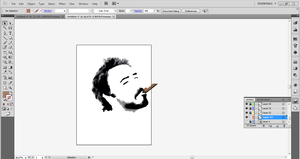 WIP: Robert Downey Jr. Polygons by SomeElixer