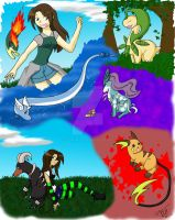Pokemon FreeTime by charryblossom