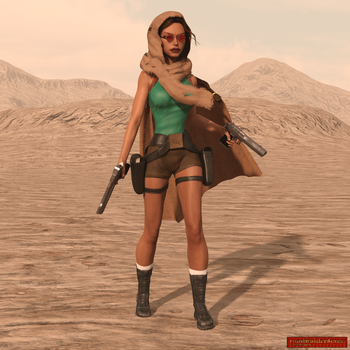 Classic Raider 77 by tombraider4ever
