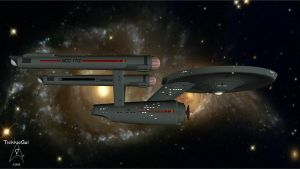 2245-2385 USS Enterprise NCC-1701 by TrekkieGal