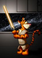 Jedi Tigger Colored by Ishiga-san