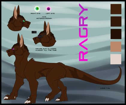 Ragry Reference Sheet by Red-Dragon-Blaze