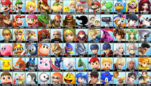 Super Smash Bros. 5 - Dream Roster by EdGeorgenCody