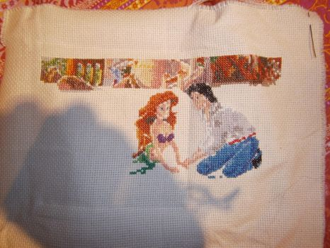 Disney Dreams Collection - The Little Mermaid WIP by Fusainne