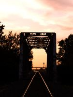 Trestle Silhouette by BAGilligan