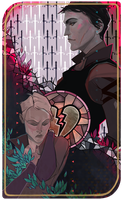 Romance tarot card by Ne-sy